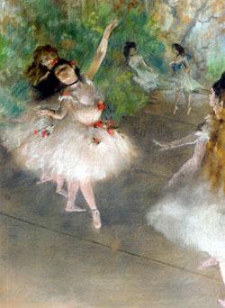 Edgar Degas, Baletnice