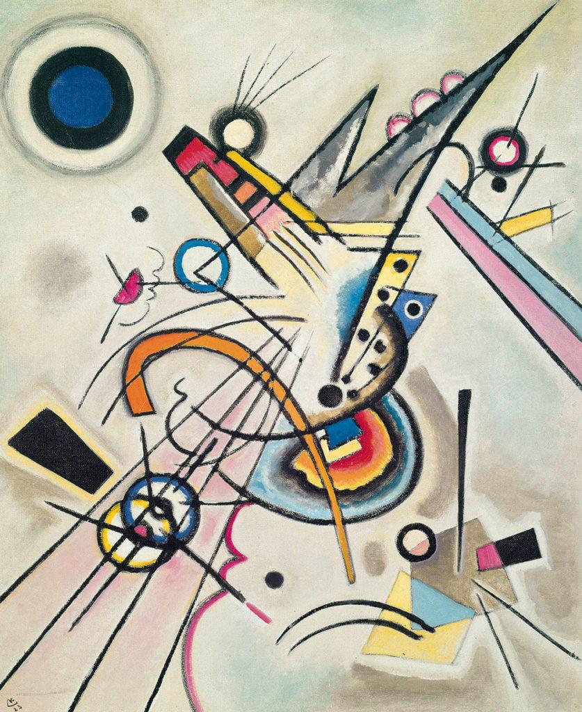 Wassily Kandinsky, Diagonal, 1923