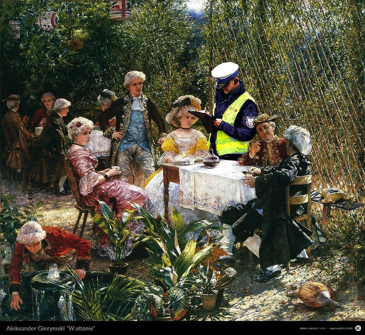 Jarek Kubicki - Obrazy policja