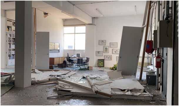 Galeria Sfeir-Semler po eksplozji