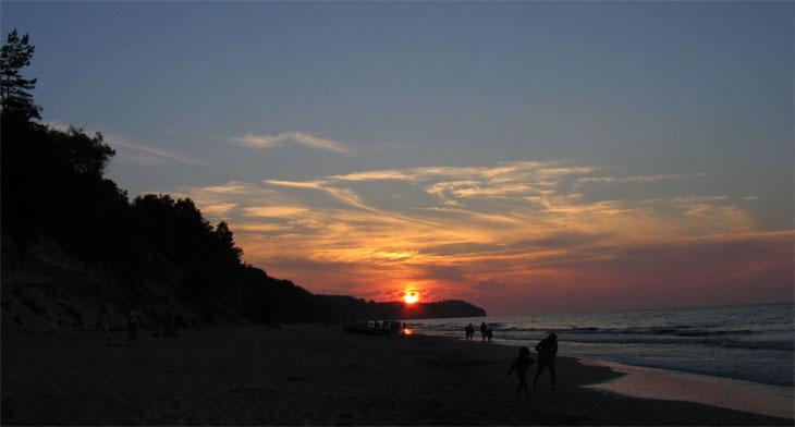 obraz morza - Przylądek Rozewie