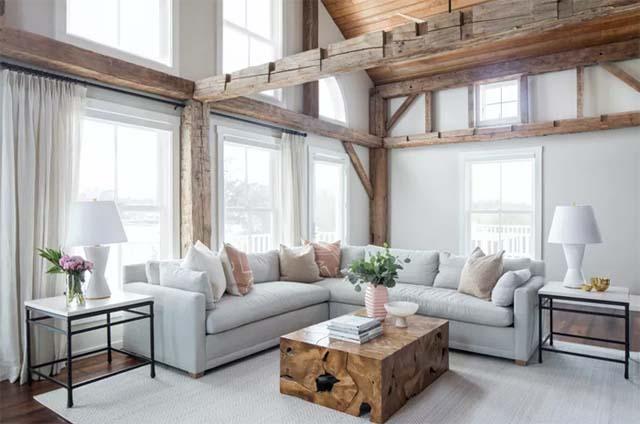 Jaki obraz do salonu w stylu rustykalnym?